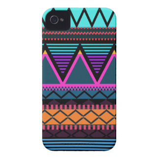 Neon 2 Modern Tribal iPhone 4 Cover
