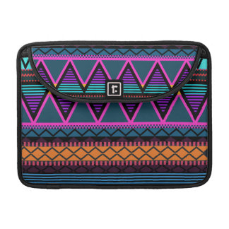 Neon 2 Modern Tribal Macbook Pro Flap Sleeve
