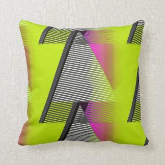 Neon 80s Pattern Cushion