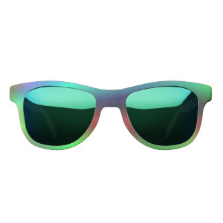 Neon abstract sunglasses