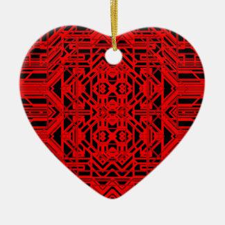 Neon Aeon 12 Ceramic Heart Decoration