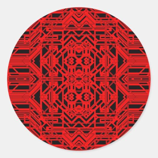 Neon Aeon 12 Classic Round Sticker
