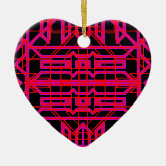Neon Aeon 6 Ceramic Heart Decoration