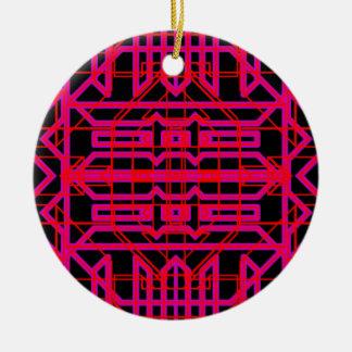 Neon Aeon 6 Round Ceramic Decoration