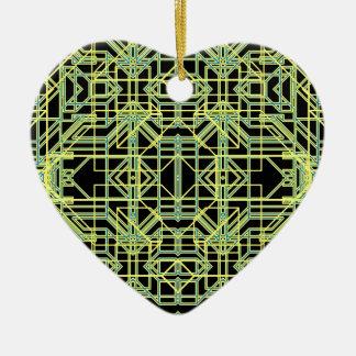 Neon Aeon 8 Ceramic Heart Decoration