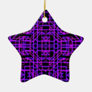 Neon Aeon 9 Ceramic Star Decoration
