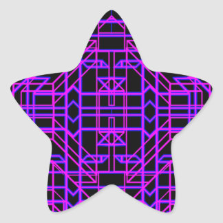 Neon Aeon 9 Star Sticker