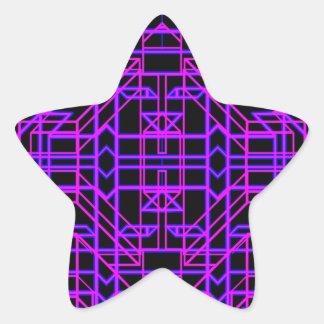 Neon Aeon 9 Star Sticker