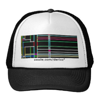 Neon Art Decco Hat