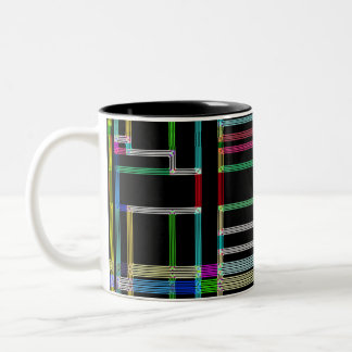 Neon Art Deco Mug