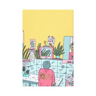 Neon Asia Canvas Print