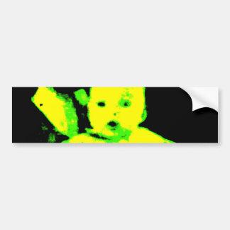 Neon Baby Bumper Sticker