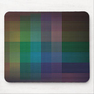 neon background squares big mousepad