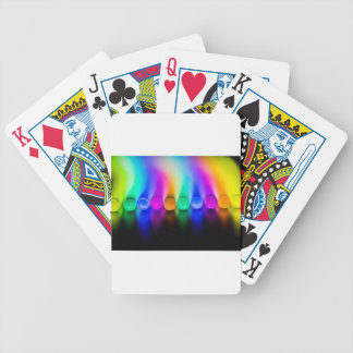 Neon Bicycle Playing Cards