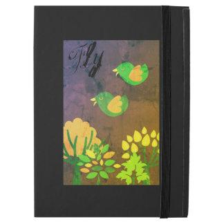 Neon Bird iPad cover