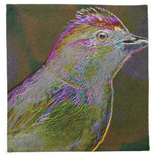 Neon Bird Napkin