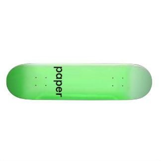 neon_blank_decks paper skateboard