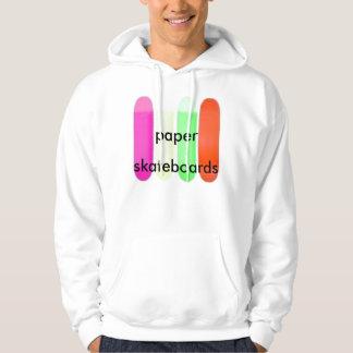 neon_blank_decks, paper, skateboards hoodie