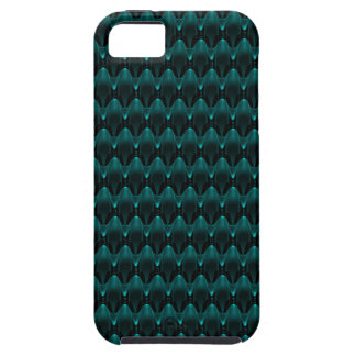 Neon Blue Alien Head iPhone 5 Cover