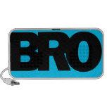 Neon Blue BRO Mp3 Speakers