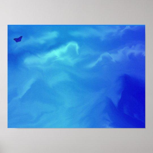neon blue dreams poster