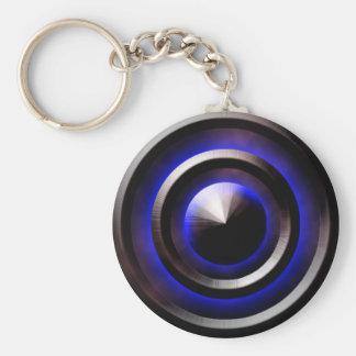 Neon-Blue Key Chains