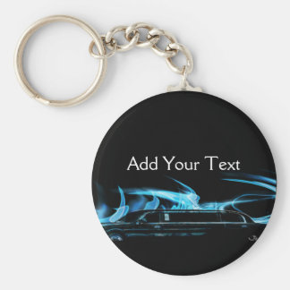Neon Blue Limosine Manage this category Basic Round Button Key Ring