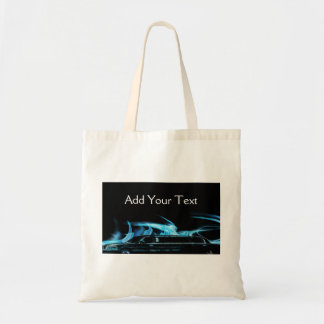 Neon Blue Limosine Manage this category Budget Tote Bag