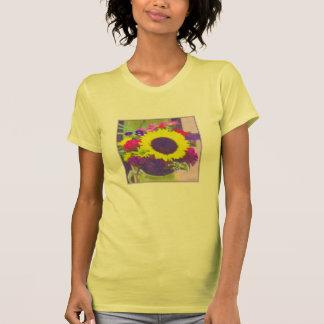 Neon Bouquet Ladies' Hanes T-shirt