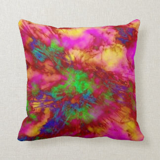 """""""Neon Branches"""" pillow"""
