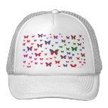 Neon Butterflies Cap