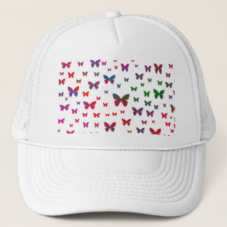Neon Butterflies Trucker Hat