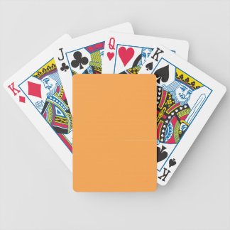 Neon Carrot Bicycle Playing Cards