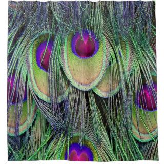 Neon Cascade Shower Curtain