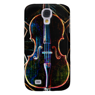 Neon Cello Galaxy S4 Case