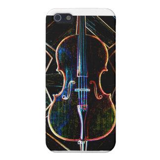 Neon Cello iPhone 5/5S Cases