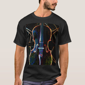 Neon Cello T-shirt