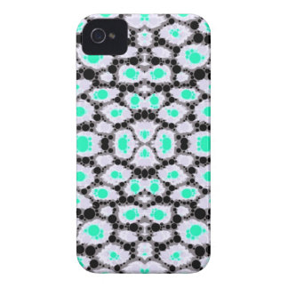 Neon Cheetah Abstract iPhone 4 Cover