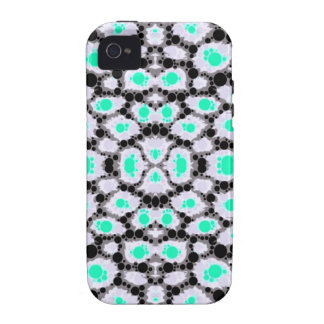 Neon Cheetah Abstract iPhone 4/4S Cover