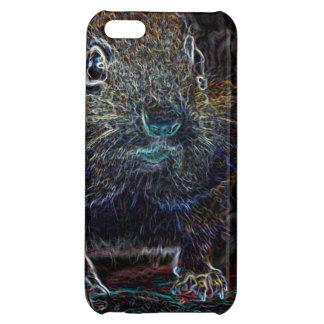 Neon Chipmunk 3 iPhone 5C Cases