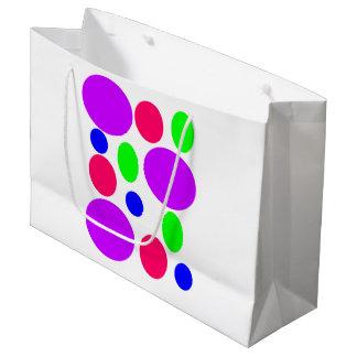 Neon Circles Gift Bag