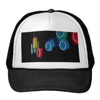 Neon Circles Hat