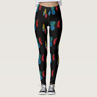 Neon Circles Leggings