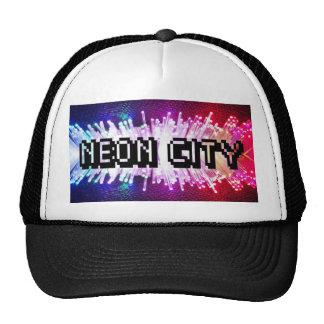 Neon City Trucker Hats