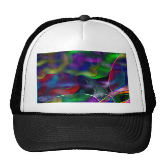 Neon Colorful Mesh Hat