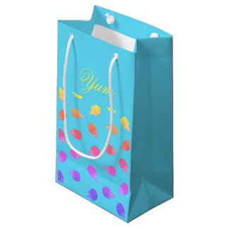 Neon colorful Ice cream gift bag