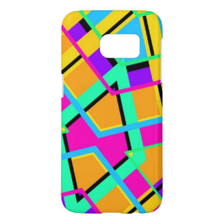 NEON COLORFUL PHONE CASE ABSTRACT PATTERN