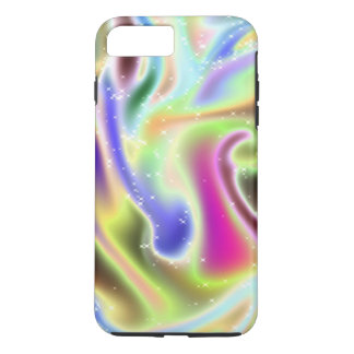 Neon Colorful Swirl Iphone 7 Cover