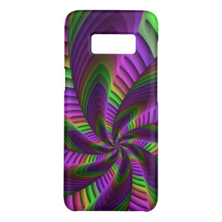 Neon Colors Flash Crazy Colorful Fractal Pattern Case-Mate Samsung Galaxy S8 Case