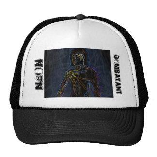 Neon Combatant Cap